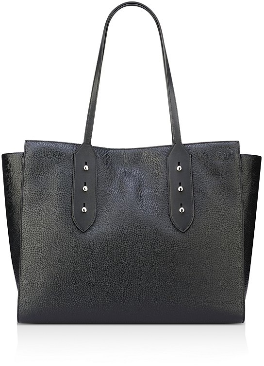 Anne Klein Julia East/West Large Leather Tote