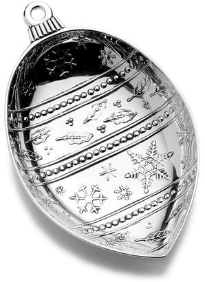 Towle Holiday Wishes Egg Ornament Candy Dish