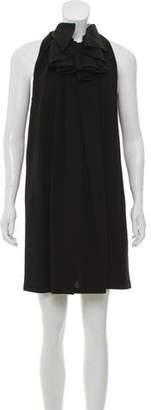 Martin Grant Ruffled Sleeveless Dress