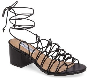 Women's Steve Madden Illie Knotted Lace Sandal $79.95 thestylecure.com