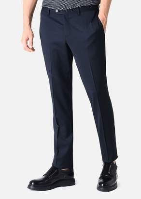 Emporio Armani Straight Leg Virgin Wool Trousers