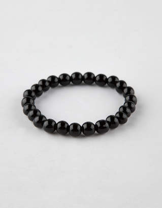 Full Tilt Black Onyx Beaded Bracelet