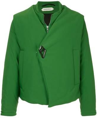 Namacheko asymmetric padded jacket