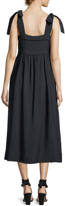 3c70035386 See by Chloe Sleeveless Tie-Shoulder A-Line Dress