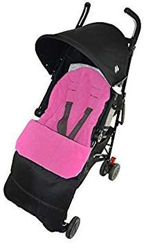 Maclaren Footmuff/Cosy Toes Compatible with Volo Pushchair Pink Rose