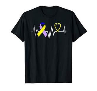 Butterfly Ribbon Bladder Cancer Tee Bladder Cancer Awareness T-Shirt