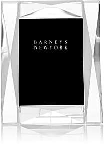 "Barneys New York Diamond-Pattern Crystal 5"" x 7"" Picture Frame"