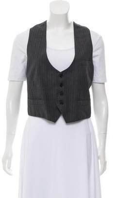 Acne Studios Pinstripe Button-Up Vest