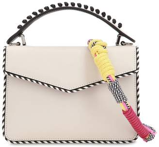Les Petits Joueurs Mini Pixie Multi Braid Leather Bag
