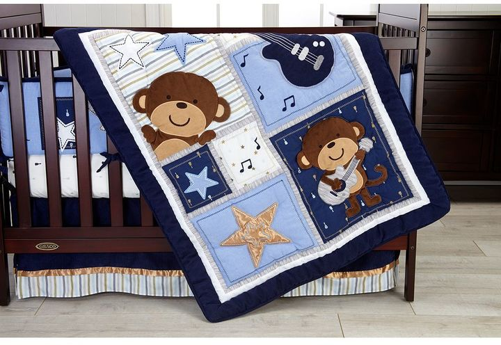 Carter's Carters Carter's Monkey 4-pc. Crib Bedding Set