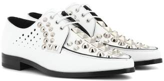 Prada Studded leather Derby shoes