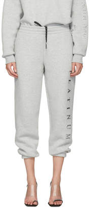 Alexander Wang Grey Platinum Credit Card Lounge Pants