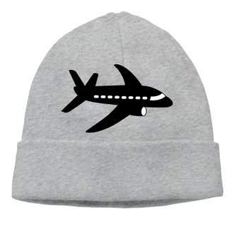 Hjk Beanie Knit Hat for Man Women Thermal Skull Cap Airplane Fold Beanie Toque