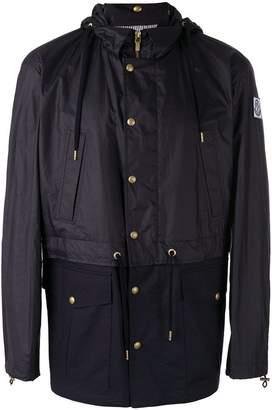 Moncler (モンクレール) - Moncler ロゴパッチ フード付きジャケット