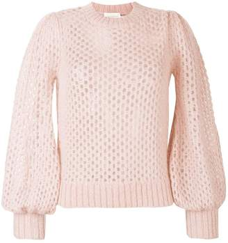 Zimmermann open knit jumper