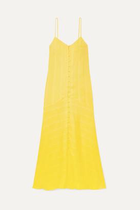 Mara Hoffman Net Sustain Diana Tencel Maxi Dress - Yellow