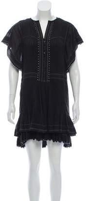 Isabel Marant Pleated Ruffled Dress