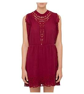 IRO Caidy Broderie Anglaise Dress