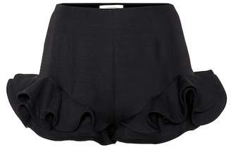 Valentino Wool and silk crêpe shorts