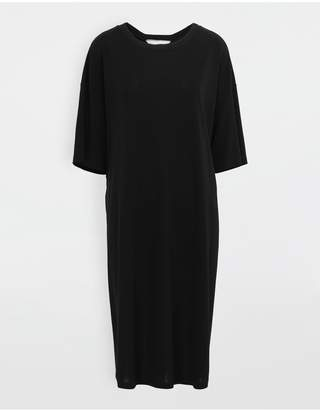 Maison Margiela Ruched Back Jersey Day Dress