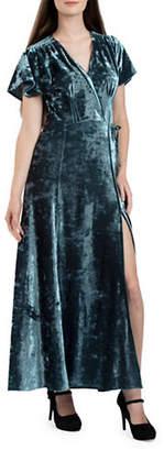 French Connection Aurore Velvet Maxi Dress