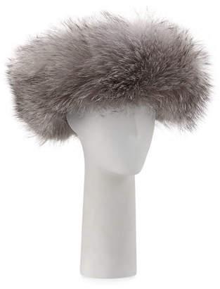 Surell Knit Hat w/ Fox Fur Cuff