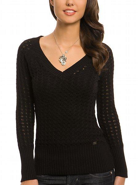 Dusk Double V-neck Sweater