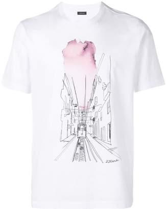 58fe4d328 Ermenegildo Zegna White Men's Tshirts - ShopStyle