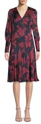 LK Bennett Silk Chiffon Dress