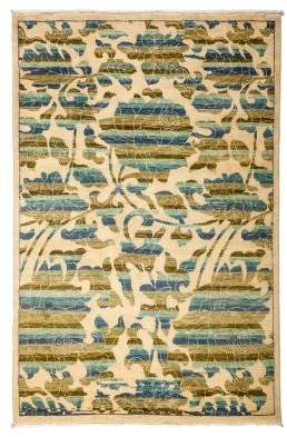 "Solo Rugs Arts and Crafts Area Rug, 4'2"" x 6'2"""
