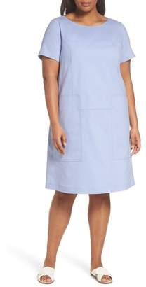 Lafayette 148 New York Farah Catalina Stretch Canvas Dress