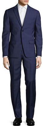 John Varvatos Notch Lapel Wool Suit