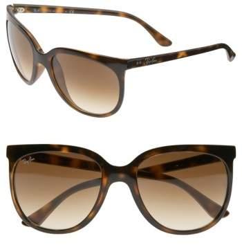 Women's Ray-Ban Retro Cat Eye Sunglasses - Havana