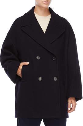 Jil Sander Dark Blue Coat