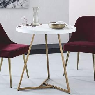 west elm Lacquer Top Café Table