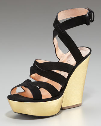MARC by Marc Jacobs Strappy Suede Sandal