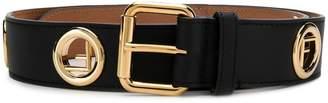 Fendi F studded belt
