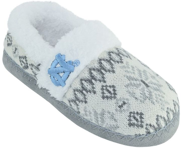 Women's North Carolina Tar Heels Snowflake Slippers