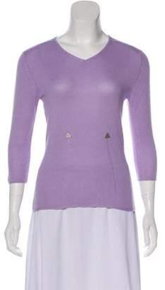 Chanel Silk & Cashmere Sweater