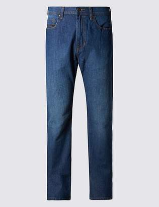 Marks and Spencer Regular Fit Stretch Jeans