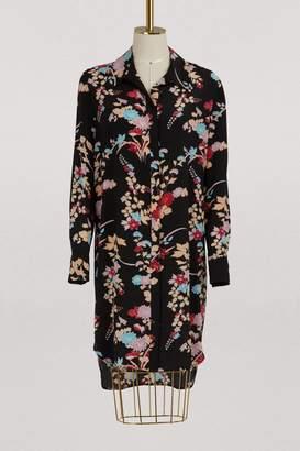 Diane von Furstenberg Short dress with leaves