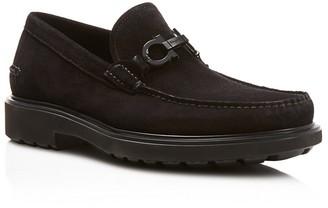 Salvatore Ferragamo Gotham Loafers $595 thestylecure.com