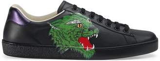 Gucci Ace sneaker with panther