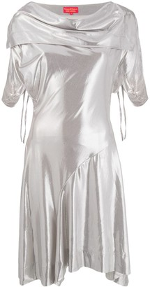 Vivienne Westwood Pre-Owned draped collar dress