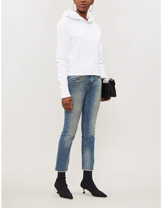 Zadig & Voltaire Ava fadded stretch-denim jeans