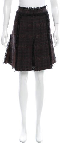 Tory BurchTory Burch Tweed Mini Skirt