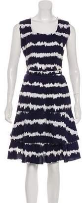 Samantha Sung Sleeveless Midi Dress
