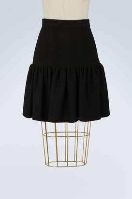 Miu Miu Iconic shape skirt
