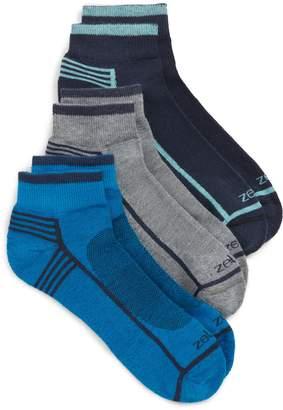 Zella 3-Pack Assorted Ankle Socks
