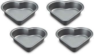 Cuisinart Nonstick 4-Pc. Mini Heart Cake Pan Set